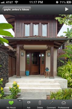 Perfect entry way for the Manila house