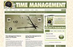Time Management Tip Wordpress Blog Established Business Website For Sale
