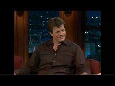 Craig Ferguson 5/6/9E Late Late show Nathan Fillion - YouTube I LOVE IT!!!!!!!!!!!!!!!!