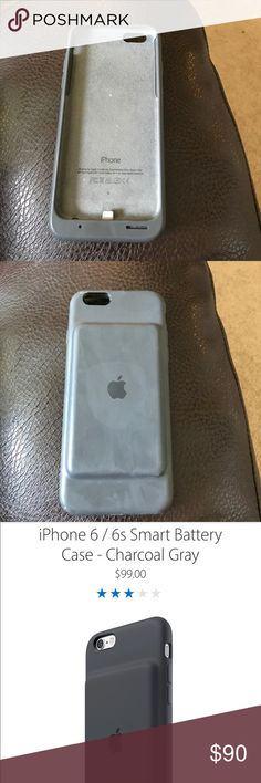 Apple iphone charging case 6/6s Iphone charging case, lasts all day, worked really well for me but I have no more use for it because I got an Iphone 7+ Apple Other