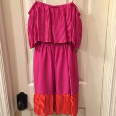 Max & Cleo NWT strapless dress size XS and XXS NWT pullover style dress has a soft jersey liner Size XS and XXS retail tags attached no flaws Max & Cleo Dresses Mini