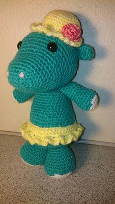 Hillary Hippo Amigurumi Crochet