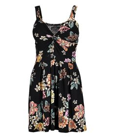 Whether meeting up with friends or spending time outdoors, the flowing design and floral print of this dress gives you a casually comfortable fit. Robes Pour Juniors, Junior Dresses, Fit Flare Dress, Floral Prints, Cold Shoulder Dress, Summer Dresses, Fitness, Pink, High Point
