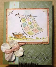 Paper Squirrel: Free Digi Friday: Laundry Day Quilt