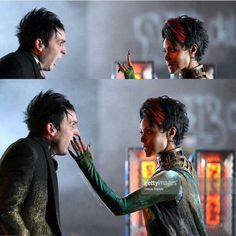 Oswald cobblepot and fish Mooney