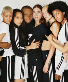 Adidas Originals Urban Outfitters Petra Collins | Instagram just went all IRL courtesy of this white-hot shoot with some of Instagram's biggest stars, adidas Originals and Urban Outfitters. #refinery29 http://www.refinery29.uk/2016/08/118832/instagram-adidas-urban-outfitters-petra-collins