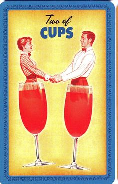 housewives tarot - two of cups