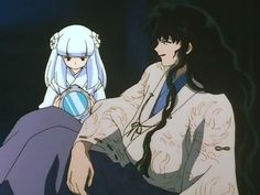 Kanna and Naraku