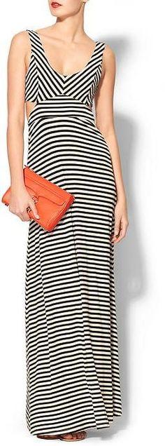 Ark & Co Stripe Cut Out Maxi on shopstyle.com