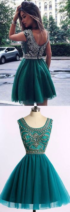 Homecoming Dress,Homecoming Dress Short,Prom Dress Short,Cheap Prom Dresses,Cheap Homecoming Dresses,Cheap Evening Dress,Homecoming Dresses Cheap,Quality Dresses,Party Dress,Fashion Prom Dress,Prom Gowns,Dresses for Girls,Prom Dress,Simple Prom Dresses,Short Hunter Prom Dress with Beading, Cheap Green Homecoming Dress, SH90