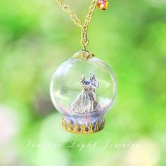 ✨ Just a reminder that this pretty Sleeping Beauty inspired necklace is still available in my shop ☺️ Disney Inspired Jewelry, Just A Reminder, Vintage Lighting, Sleeping Beauty, Christmas Bulbs, I Shop, Miniatures, 18th, Holiday Decor