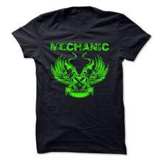 MECHANIC T-Shirts, Hoodies. BUY IT NOW ==► https://www.sunfrog.com/Funny/MECHANIC-61896011-Guys.html?id=41382