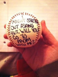 Proposal Ideas softball Girl Quotes ღ on Or asking a baseball guy to homecoming Dance Proposal, Homecoming Proposal, Proposal Ideas, Proposal Pictures, Prom Pictures Couples, Prom Couples, Couple Pics, Lacrosse, Fastpitch Softball