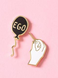 Pop Your Ego Enamel Pin Pack - Gypsy Warrior