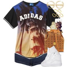Untitled #1304 by power-beauty on Polyvore featuring polyvore fashion style Topshop Vans MCM Michael Kors ASOS