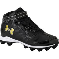 ddf80b3f0 UNDER ARMOUR CRUSHER BOYS FOOTBALL CLEATS SIZE 2.5 ** Details can be found  by clicking