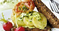Frokost: Kartoffelmad med purløgsmayo