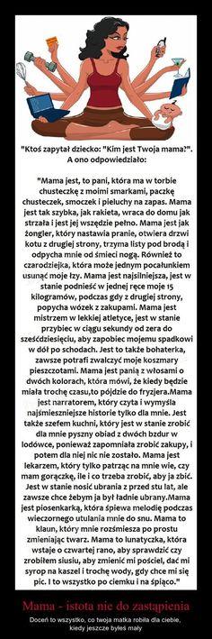 Mama - istota nie do zastąpienia...