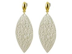 Sterling Silver and 24K Gold, Willow Earrings by GURHAN