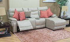 If you are looking for the ultimate in style, design and comfort, the Oslo Reclining Corner Suite is perfect for you. Oslo Corner Suite is not only amazing value for money. This corner suite delivers also a high quality feel and superb comfort with a  recliner, full stretch chaise and a storage with two cupholders.  #furniture #cornercouch #lounge Corner Couch, Lounge Suites, Oslo, Be Perfect, Recliner, Mattress, Money, Storage, Amazing
