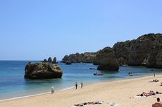 The Algarve – a Different Portugal - via Travel. Experience. Live. 09.08.2013   Bathed in seemingly eternal sunshine, this southern Portuguese region has some of the most beauteous beaches and coastline in all Europe, featuring everything from coral reefs to rugged cliffs. Photo: Lagos by blakenus, via Flickr
