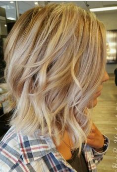 Blonde color.
