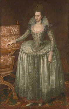 Anne of Denmark, John de Critz the elder (1551/1552–1642), National Portrait Gallery, London