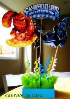 "Photo 1 of 23: Skylanders / Birthday ""SKYLANDERS ADVENTURE PARTY"" 