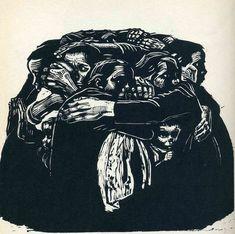 Kathe Kollwitz, The Mothers