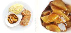 Seemingly Greek: Pork Chops and Baked Apples