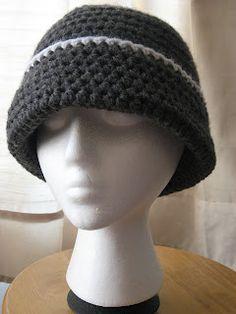 Simple crochet hat. Change colors to make men's or women's.