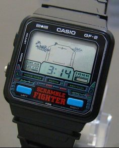 Retro Watches, Vintage Watches, Watches For Men, Casio Vintage Watch, Casio Watch, Mode Games, Vintage Video Games, Game & Watch, Something Old
