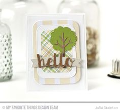 Inside & Out Stitched Rounded Rectangle STAX Die-namics, Blueprints 28 Die-namics, Hello There Die-namics, Tree-mendous Die-namics - Julia Stainton  #mftstamps