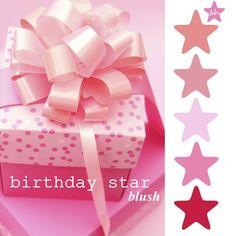 color palette ::: birthday star (blush) by Belinda {pinterestfanatic.com}