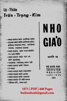 Nho Giáo Tập 2 (NXB Bộ Giáo Dục 1971) - Trần Trọng Kim, 448 Trang   Sách Việt Nam