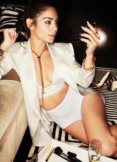 Vaness Hudgens all white errthang!