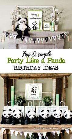 How do you Party like a PANDA? Bamboo, chopsticks, take out boxes, and dumplings! Check out Parties With A Cause for all the Panda party planning ideas. Try a donation party and let's SAVE THE PANDAS together! #savethepandas #partywithacause #pandaparty #pandadecor #kidbirthday #partyideas #tablescape #partydecor