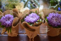 Cupcakes And Cashmere | Arrange the flowers in each of the jars, making sure they all look ...