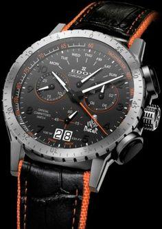 Chronodakar II Limited Edition watch by Edox