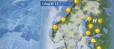 Foto: SVT Se hur vädret ska bli där du befinner dig – timme för timme. Här kan du även läsa månadskrönikor, lära känna SVT:s meteorologer och hitta läsarnas väderbilder.