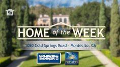 #HomeOfTheWeek: $15.9 Million Italian Inspired Living - Montecito, CA. -Coldwell Banker Previews International