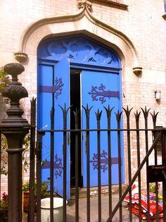 Blue Brooklyn Door / image from sustylife.com
