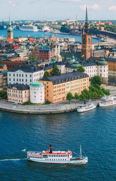 14 Things You Have To Do In Stockholm, Sweden Honeymoon - Honeymoon destinations - Honeymoon id Sweden Stockholm, Stockholm Travel, Stockholm City, Gothenburg Sweden, Oh The Places You'll Go, Places To Travel, Travel Diys, Travel Things, Travel Outfits
