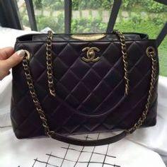Chanel Calfskin Shoulder Tote Bag Black 2017 Shoes For Less Replica