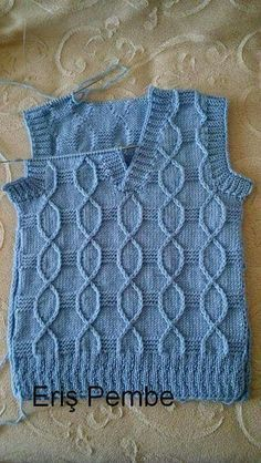 Ravelry: Argyle Vest pattern by Patons İlgili Benzer Çalışmalar No related posts. This Pin was discovered by hab hand knit vest by woolpleasure The Little Professor by Christ Baby Boy Knitting Patterns, Baby Sweater Knitting Pattern, Sweater Knitting Patterns, Knitting For Kids, Knitting Designs, Knit Patterns, Free Knitting, Pull Bebe, Knit Vest Pattern