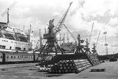 The Kaliningrad merchant and fishing seaport. 1979