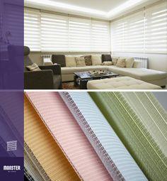 Productos innovadores que ofrecen los beneficios de la privacidad que una cortina ofrece con la elegancia de una persiana. Nuestras persianas Bengala filtran delicadamente el sol para crear un ambiente acogedor dentro del cuarto. También aíslan los rayos UV, los cuales pueden dañar tus muebles y tus cuadros. Una de las características más atractivas es que combinan con cualquier decoración.  #blinds #design #interiordesign #sheerblinds