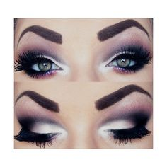 We Heart It ❤ liked on Polyvore featuring makeup and eyes