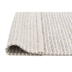 Network Sana Grey Hand Woven Flatweave Wool & Viscose Rug & Reviews | Temple & Webster