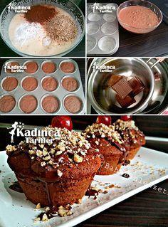 Çikolatalı Fındıklı Muffin Tarifi